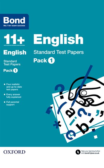 Bond 11 +: English: Standard Test Papers