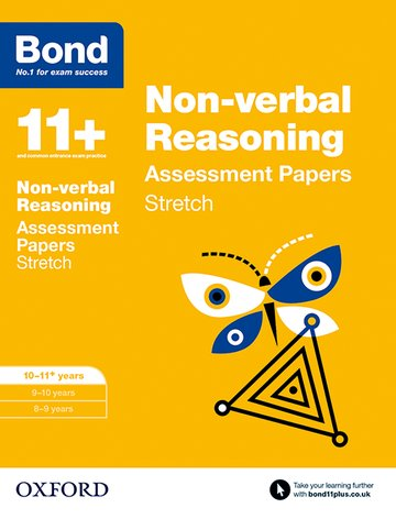 Bond 11+: Non-verbal Reasoning: Stretch Papers
