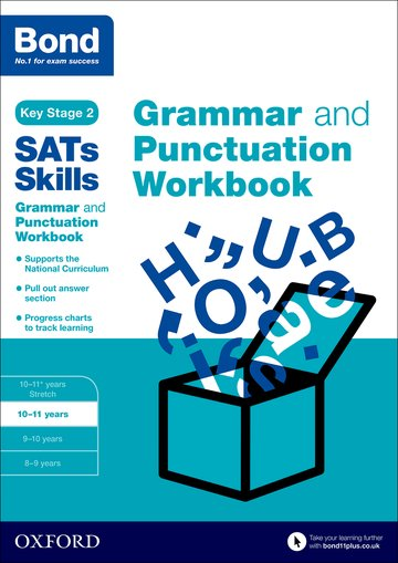Bond SATs Skills: Bond Grammar and Punctuation 10-11 Core (pack of 15)