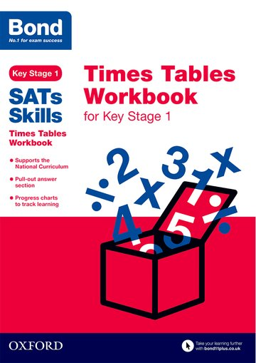 Bond Skills Times Tables for Key Stage 1 (pack of 15)