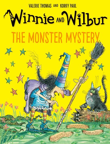 Winnie and Wilbur: The Monster Mystery PB