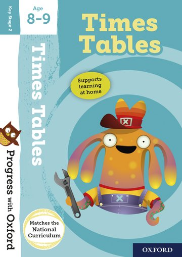 Progress with Oxford:: Times Tables Age 8-9