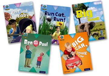 Project X Origins: Red Book Band, Oxford Level 2: Big and Small: Mixed Pack of 5