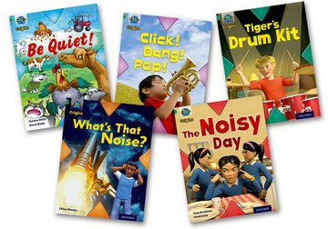 Project X Origins: Green Book Band, Oxford Level 5: Making Noise: Mixed Pack of 5