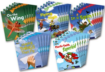Project X Origins: Green Book Band, Oxford Level 5: Flight: Class Pack of 30
