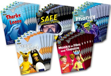 Project X Origins: Lime Book Band, Oxford Level 11: Masks and Disguises: Class Pack of 30