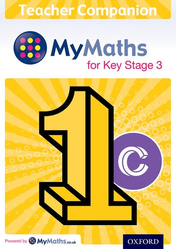 MyMaths for Key Stage 3: Teacher Companion 1C