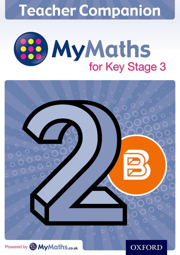 MyMaths for Key Stage 3: Teacher Companion 2B
