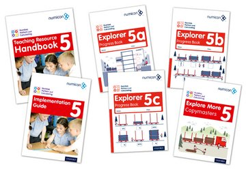 Numicon: Number, Pattern and Calculating 5 Easy Buy Pack