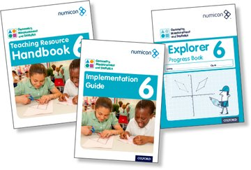Numicon: Geometry, Measurement and Statistics 6 Easy Buy Pack