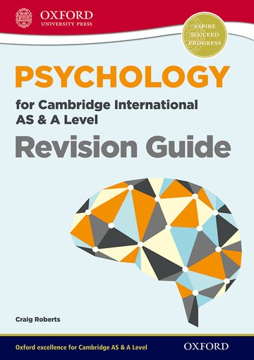 Psychology for Cambridge International AS  A Level Revision Guide