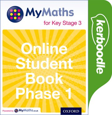 MyMaths for Key Stage 3: Online Student Book Phase 1