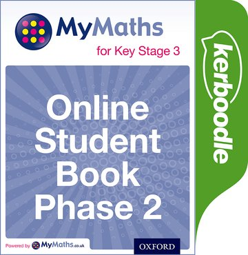 MyMaths for Key Stage 3: Online Student Book Phase 2