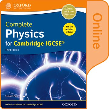 Complete Physics for Cambridge IGCSE Online Student Book
