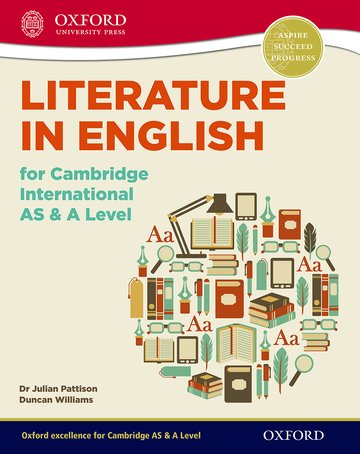 Literature in English for Cambridge International AS  A Level