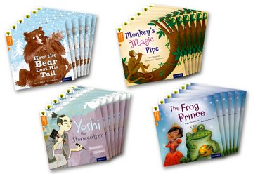 Oxford Reading Tree Traditional Tales: Level 6: Class Pack of 24