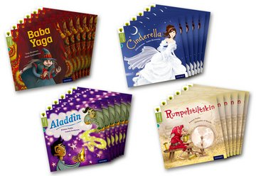 Oxford Reading Tree Traditional Tales: Level 7: Class Pack of 24