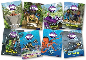 Project X Code: Jungle Trail  Shark Dive Pack of 8