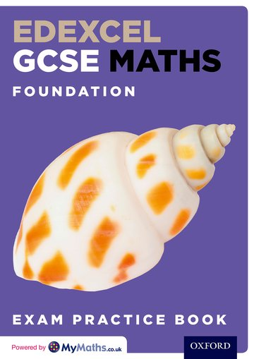 Edexcel GCSE Maths Foundation Exam Practice Book (Pack of 15)