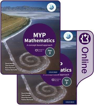 MYP Mathematics 3: Print and Enhanced Online Course Book Pack