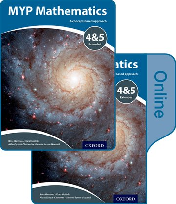 MYP Mathematics 4  5 Extended: Print and Online Course Book Pack