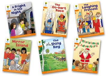 Oxford Reading Tree Biff Chip and Kipper Stories: Level 6 More Stories A: Pack of 6