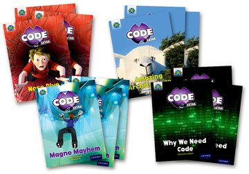 Project X CODE <i>Extra</i>: Gold Book Band, Oxford Level 9: Marvel Towers and CODE Control, Class pack of 12