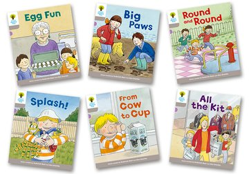 Oxford Reading Tree Biff, Chip and Kipper Stories Decode and Develop: Level 1: Level 1 More B Decode  Develop Pack of 6