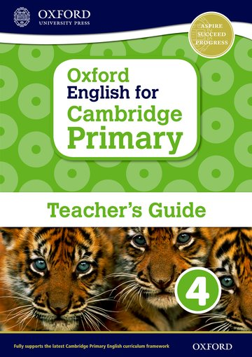 Oxford English for Cambridge Primary Teacher Book 4