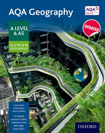 AQA Geography A Level  AS Human Geography Student Book