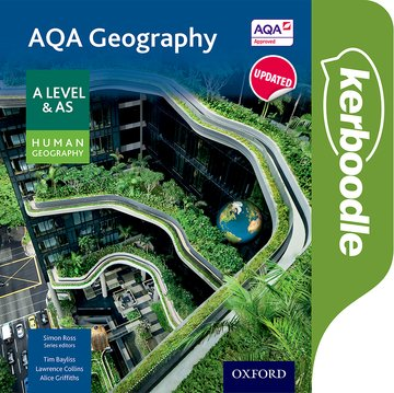 AQA Geography A Level  AS Human Geography Kerboodle Student Book