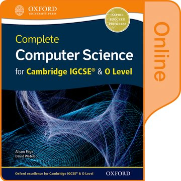 Complete Computer Science for Cambridge IGCSE  O Level Online Student Book