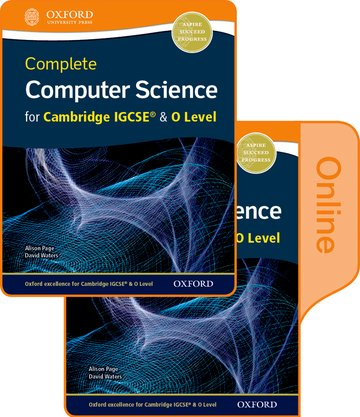 Complete Computer Science for Cambridge IGCSE  O Level Print  Online Student Book Pack