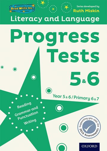 Read Write Inc. Literacy and Language: Years 56: Progress Tests 56