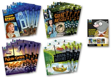 Project X Origins <i>Graphic Texts</i>: Grey Book Band, Oxford Level 14: Class Pack of 24