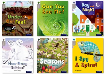 Oxford Reading Tree inFact: Oxford Level  1: Mixed Pack of 6