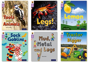 Oxford Reading Tree inFact: Oxford Level 1+: Mixed Pack of 6
