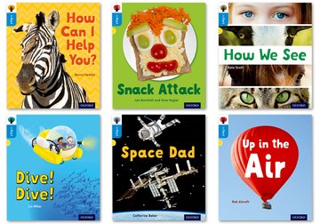 Oxford Reading Tree inFact: Oxford Level 3: Mixed Pack of 6