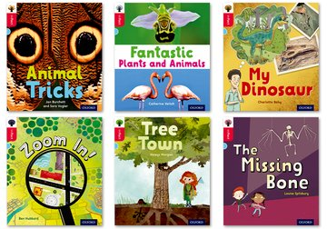 Oxford Reading Tree inFact: Oxford Level 4: Mixed Pack of 6