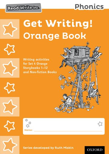 Read Write Inc. Phonics: Get Writing! Orange Book Pack of 10