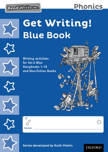 Read Write Inc. Phonics: Get Writing! Blue Book Pack of 10