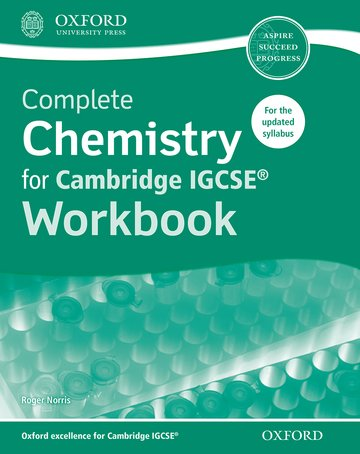 Complete Chemistry for Cambridge IGCSE Workbook