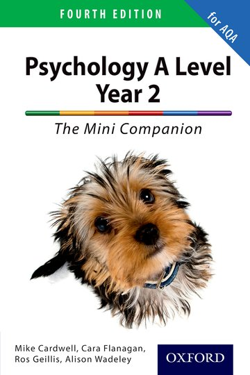 The Complete Companions for AQA: A Level Year 2 Psychology: The Mini Companion