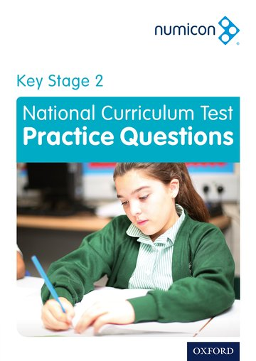 Numicon: Key Stage 2 National Curriculum Test Practice Questions
