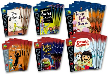 Oxford Reading Tree TreeTops Chucklers: Oxford Levels 14-15: Pack of 36