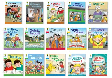 Oxford Reading Tree Biff Chip and Kipper Stories Decode and Develop: Super Easy Buy Pack