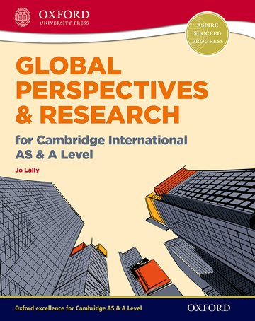 Global Perspectives and Research for Cambridge International AS  A Level