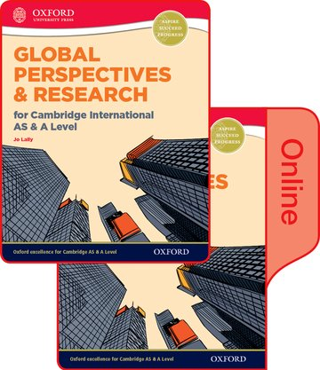Global Perspectives and Research for Cambridge International AS  A Level Print  Online Book