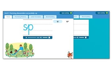 Nelson Handwriting: Reception/P1 to Year 4/P5: Teaching Software for Starter Level to Book 4