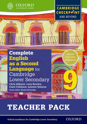 Complete English as a Second Language for Cambridge Lower Secondary Teacher Pack 9